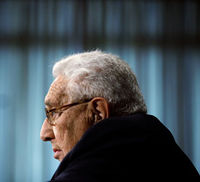 Henry Kissinger, who warns Channel 4 News that if an Islamist government replaces Mubarak in Egypt that it would be a 'fundamental change to the kind of world we have known since World War 2'