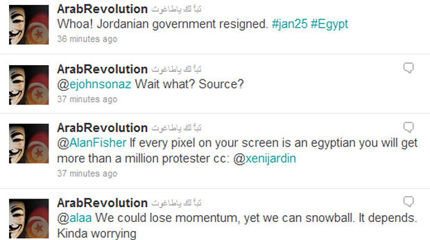 Egypt: Twitter is fuelling events in Cairo