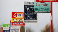 House sale signs (Getty)