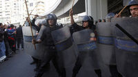 The protests continue, but where have the police gone? - Reuters