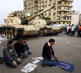 Egyptian Army 'intervenes' after night of violence - Reuters