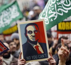 Egyptians demand Mubarak exit as crowds swarm Tahrir Square