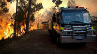 Bushfires destroy homes in western Australia (Reuters)