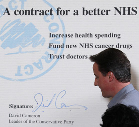 Health Charities criticise NHS reforms (c) Reuters