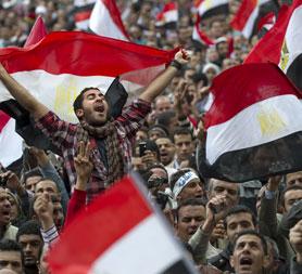 President Mubarak to stand down