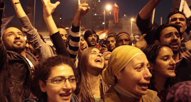 Egypt: Euphoria in Cairo as President Mubarak steps down