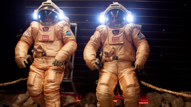 Astronauts in Russia 'land' on Mars in a simulated 500-day space flight (ESA)