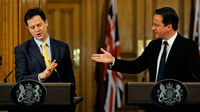 Cameron and Clegg clash over AV voting system