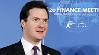UK Chancellor George Osborne at the G20 meeting in Paris (Image: Getty)