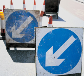 Potholes: English councils get £100 million to fix roads. (Getty)