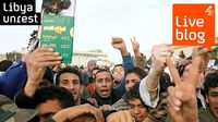 LIVE BLOG: Libya crisis - latest on Gaddafi.