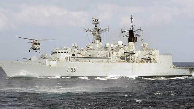 Libya: Britons finally evacuated as HMS Cumberland arrives (MOD library)