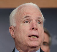 Targetted? Senator John McCain (Getty)