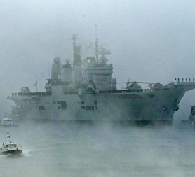 Scrapping of the Ark Royal has received major criticism (reuters)