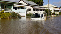 People affected by the Australian floods have prepared for a rise in water levels (Reuters)