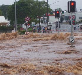 The Australia floods have killed at least nine people (Reuters)