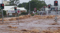 The Australia floods have killed at least nine people (Reuters)
