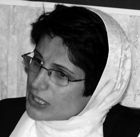 Nasrin Sotoudeh is a human rigths lawyer who has been jailed in Iran