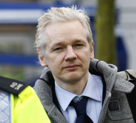 WikiLeaks: Julian Assange leaves Belmarsh Magistrates. (Reuters)
