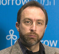 The founder of Wikipedia, Jimmy Wales, speaks to Jon Snow about accuracy, homework and conifer trees.