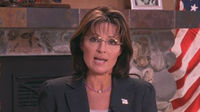 Sarah Palin reacts to the Arizona shootings in a Facebook video.