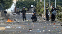 Protesters say more than 50 killed in Tunisia clashes