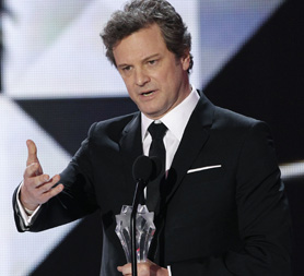 Colin Firth who stars in The King's Speech. (Reuters)