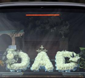 Body being transported to crematorium