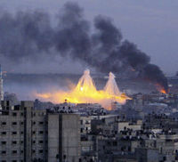 Gaza during the 2009 conflict with Israel (Reuters)