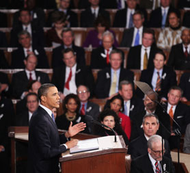 Obama urges political unity in State of the Union speech