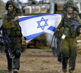 Israeli soldiers during the 2009 conflict in Gaza (Reuters)