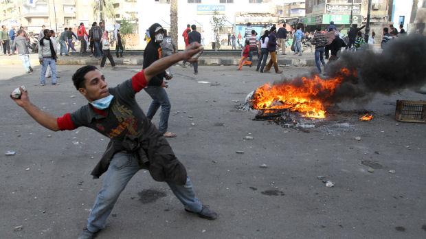 Protests in Suez (Reuters)