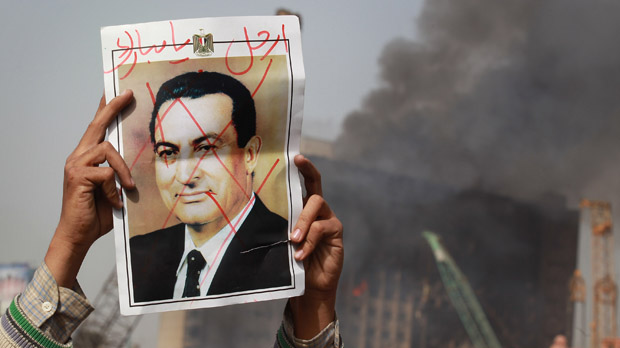 Egypt protests: is President Mubarak's time up? (Getty)