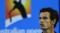 Tennis star Andy Murray plays in the Australian Open. (Reuters)