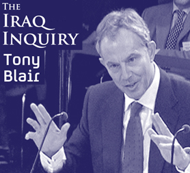 Iraq inquiry: Tony Blair appears for a second time. (Reuters)