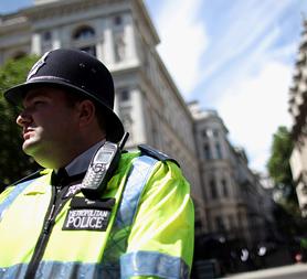Acpo head Sir Hugh Orde warns Theresa May that police cuts may put public safety at risk (Image: Getty)