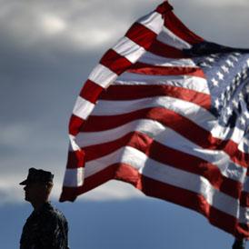 A US navy commander (Reuters)