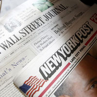 Wall Street Journal, New York Post - Reuters