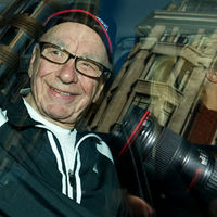 Rupert Murdoch during his emergency visit to London. (Getty)