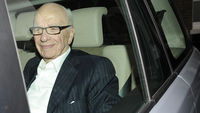 Rupert Murdoch arrives at his apartment in London, 11 July 2011. (Reuters)