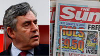 The Sun newspaper has defended itself over the source of a story that Gordon Brown's son had cystic fibrosis (Reuters)