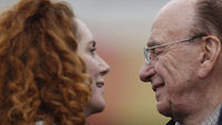 Rupert Murdoch and Rebekah Brooks, who has resigned as News International chief executive (Reuters)
