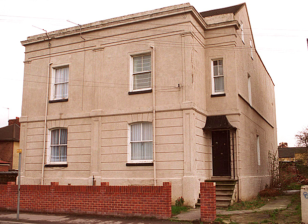 Fred and Rose West's house in Gloucester is now the focus of sex attack allegations (Image: Getty)