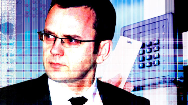 Andy Coulson, formerly the PM's spokesman, did not have top-level security clearance (Getty)