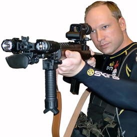 Anders Behring Breivik has admitted killing at least 92 people in Norway (Reuters)