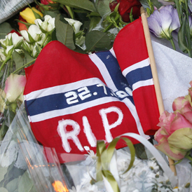The Norwegian Prime Minister says the response to the attacks on Norway will be more freedom, more democracy but not naivety (Reuters)