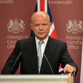Foreign Secretary William Hague (Getty)