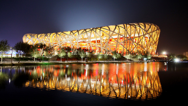 Beijing's Olympic stadium, the Bird's Nest, is struggling three years on from the games (Getty)