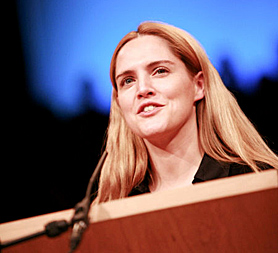 Conservative MP Louise Mensch apologises to Piers Morgan for misquoting him on phone hacking, and says she may have taken drugns (Image: Mensch's website)