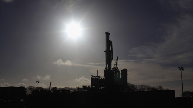 Drilling at the UK's first shale gas site is suspended after a magnitude 1.5 earthquake near Blackpool, the second in the area since April.